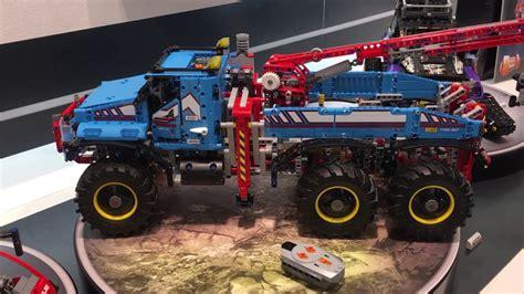 lego technic 42070 42068 and 42069 at fair 2017