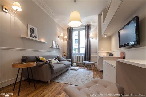 chambre parisienne nouvel espace salon et chambre canal