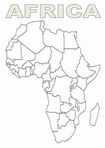 Map Of Africa Template