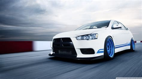 Mitsubishi Lancer Evolution X Wallpaper ·①