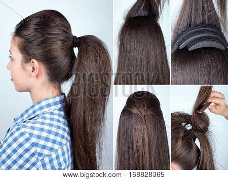 volume hairstyle image photo  trial bigstock