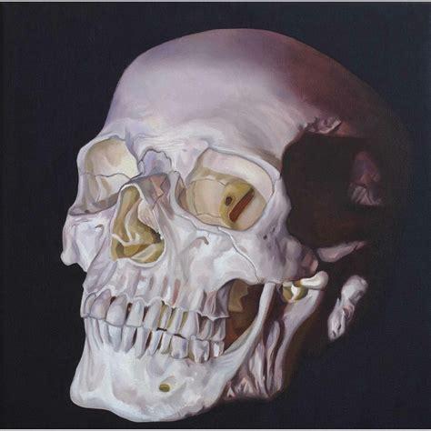 insanely awesome skull paintings  chadpierce crispme