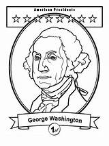 Washington George Coloring President Pages Printable Educational Favorite Recommended Mycoloring sketch template