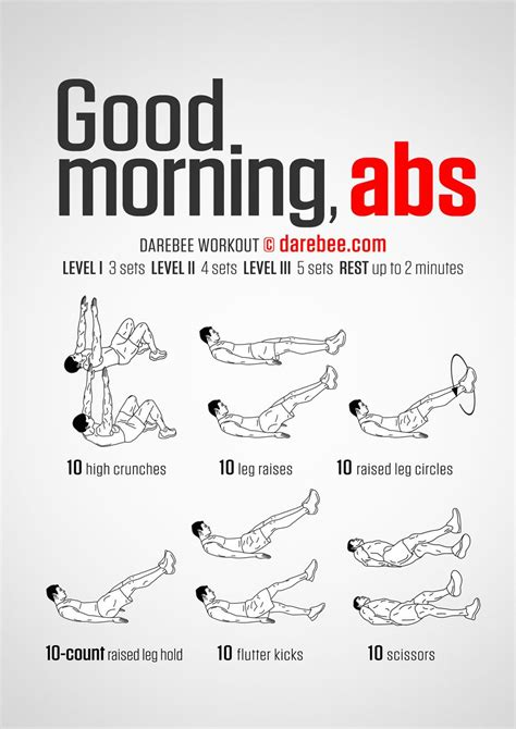 good morning abs workout morning ab workouts morning
