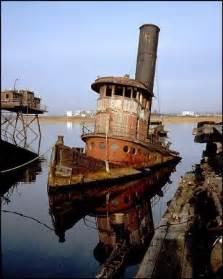 Staten Island Tugboat Graveyard