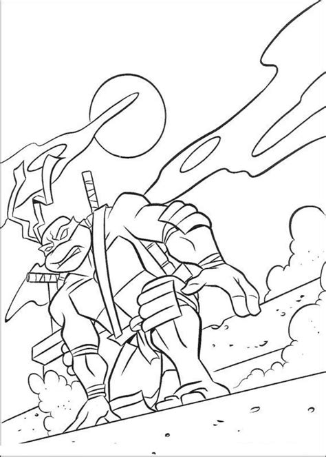 mikey-ninja-turtle-coloring-pages | | BestAppsForKids.com