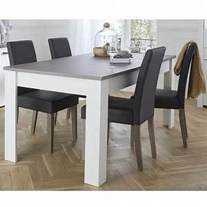 Table De Salle Manger 170x90 Cm Marquis Dya Shoppingfr