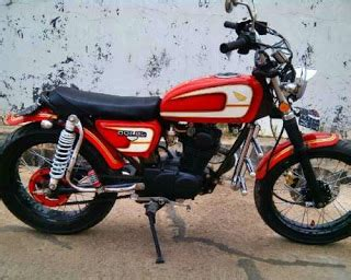 Biaya Modifikasi Motor Chopper by 54 Foto Modifikasi Motor Cb 100 150 Chopper Japstyle