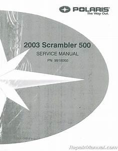 2003 Polaris Scrambler 500 Service Manual