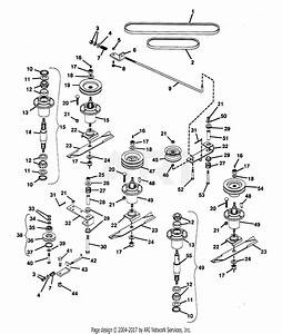 Gravely 46317 Mower 50 U0026quot  Promaster 300 Parts Diagram For