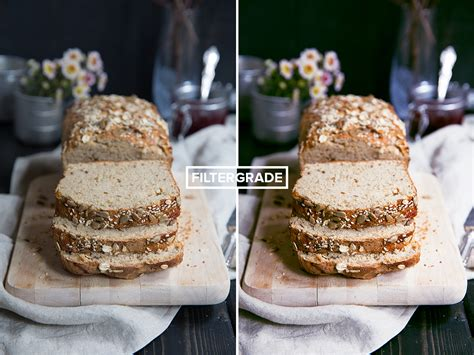 food photoshop actions  broma bakery filtergrade