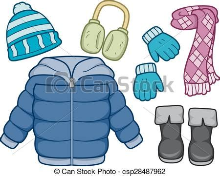 winter clothes clipart clipground