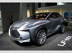 Frankfurt Motor Show 2013 Lexus LFNX concept previews