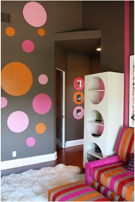Kinderzimmer Wandgestaltung Punkte by Kinderzimmer Streichen 20 Bunte Dekoideen