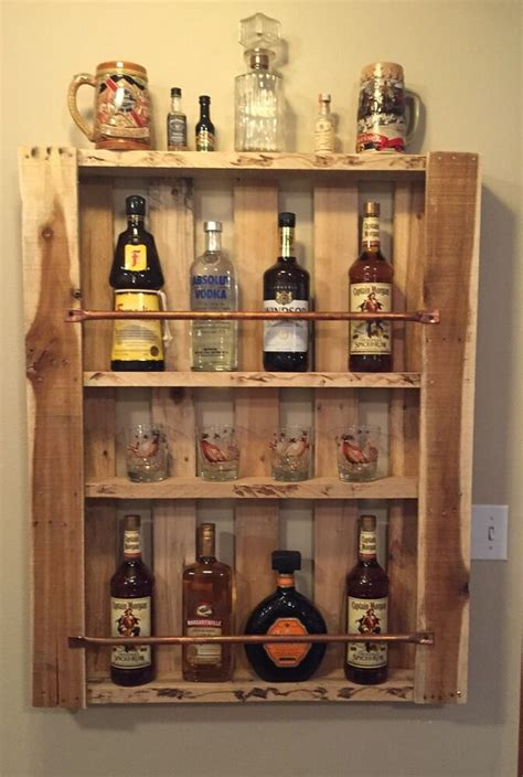 Mini Bar Cabinet by Rustic Home Decor Pallet Furniture Liquor Cabinet Mini Bar