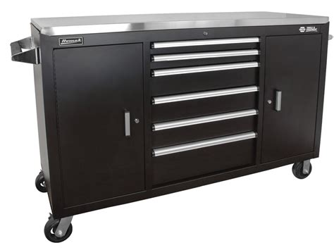 Stainless Steel Rolling Cabinet by Homak Manufacturing Llc 60 Quot Stainless Steel Top Rolling