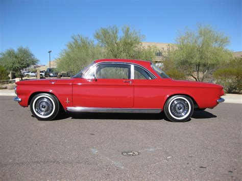 1963 CHEVROLET CORVAIR MONZA COUPE - 82603