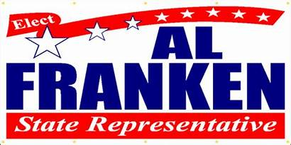 Political Campaign Banner Sign P210 Signoutfitters