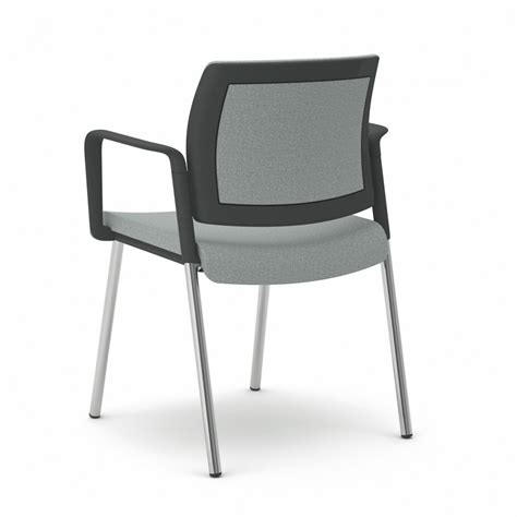 pied de chaise de bureau chaise de bureau ou réunion avec accoudoirs et 4 pieds