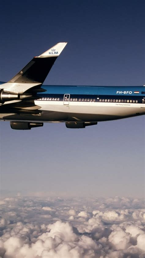boeing  aircraft klm nature wallpaper