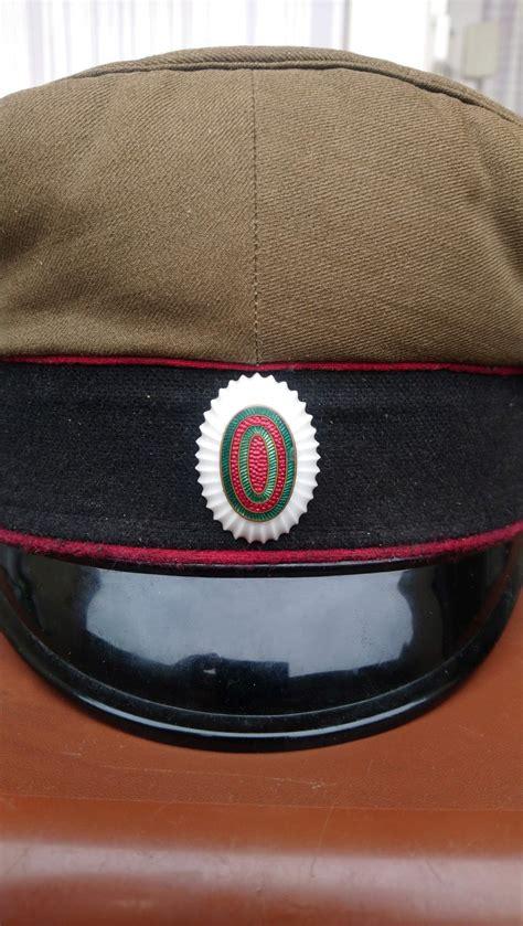 bulgarian officer visor cap