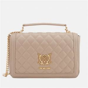 Love Moschino Beuteltasche : love moschino women 39 s quilted shoulder bag taupe ~ A.2002-acura-tl-radio.info Haus und Dekorationen