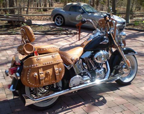 Leather Saddlebags And Motorcycle Tool Bags From Leatherworks