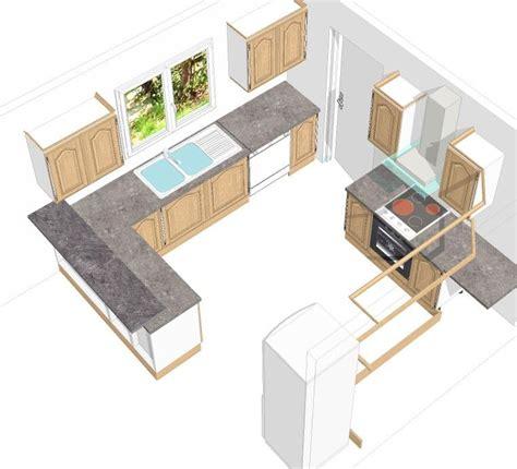 plan amenagement cuisine 10m2 tonnant idee plan cuisine id es meubles at amenagement