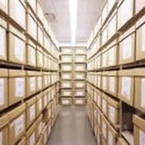 file box storage shelving archival record box file racks