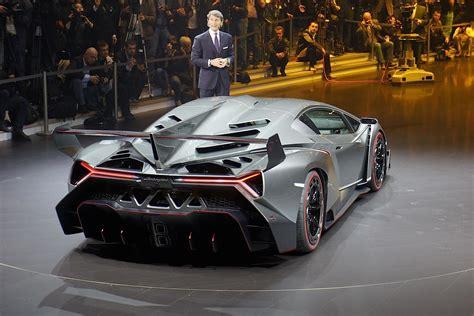 Lamborghini Veneno Named World's Ugliest Car