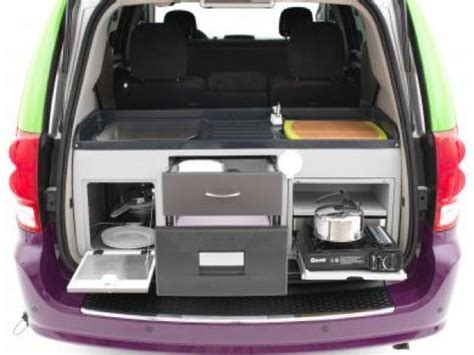 Dodge grand caravan camper conversion kit. Dodge Caravan Minivan Converted into Micro Motorhome