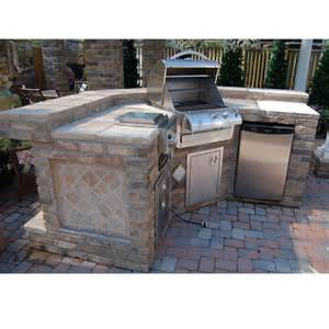 Kitchen Island Grill Grill Island Project By Leisure Select Outdoor Rooms Family Leisure