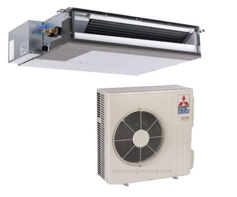 Mitsubishi Ductless Split System Air Conditioner by Mr Slim Mitsubishi Puz A24nha7 Pead A24aa7 Concealed Duct