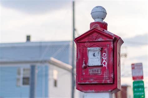 Working Fire Alarm Stock Image Starter