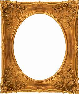 The gallery for --> Ornate Gold Oval Frame