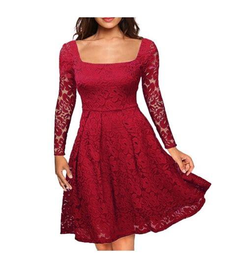 Women Floral Lace Dress 1950s Vintage Dress Plus Size 3xl