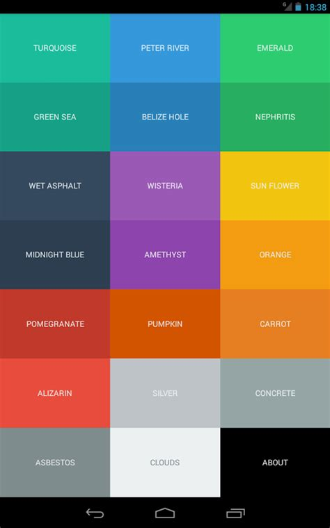 codes for android color code android apps on play