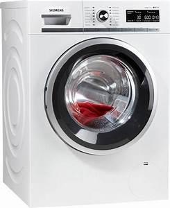 Waschmaschine 9 Kg : siemens waschmaschine wm16w5eco 9 kg 1600 u min otto ~ Markanthonyermac.com Haus und Dekorationen