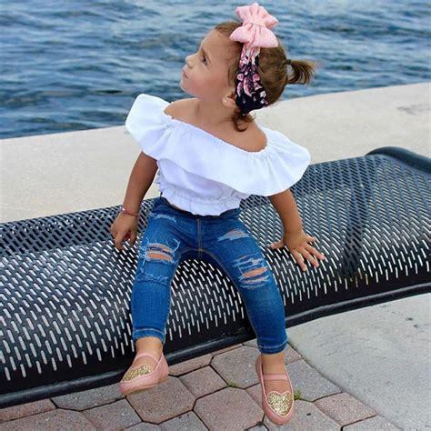 summer  girls clothing sets pcs  shoulder solid