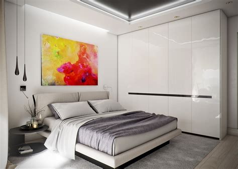 41063 small bedroom ideas with bed small apartment design for couples with white color scheme