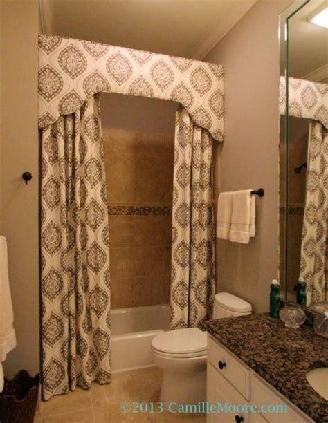 bathroom valances ideas 1000 images about shower curtain ideas on