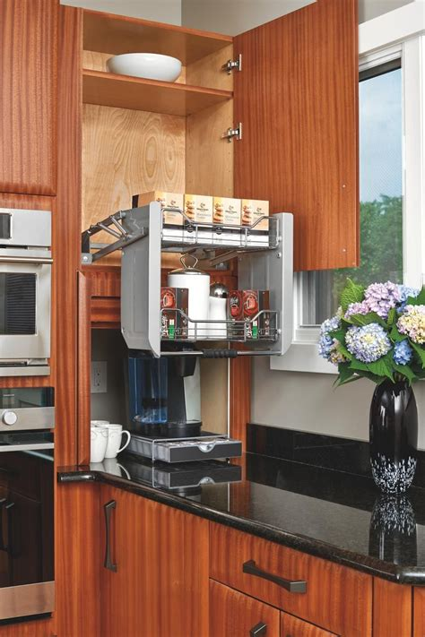 Kitchen cabinets have a big impact on budget as well as how your kitchen looks. Put Top Shelves in Reach Can't reach the items you've ...