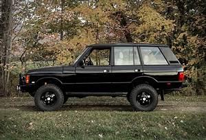 1995 Black Range Rover Classic SWB