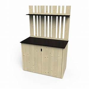 Ikea Meuble Jardin : armoire de jardin bois vertigo naturelle x x cm leroy merlin ~ Teatrodelosmanantiales.com Idées de Décoration