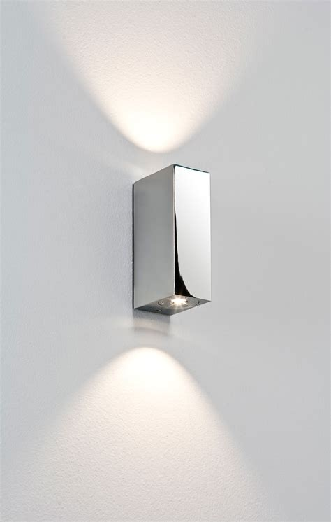 astro bloc 0829 bathroom led up wall light 2 1w