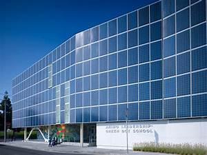 Impressive Solar Panel Facade On La School By Brooks   Scarpa
