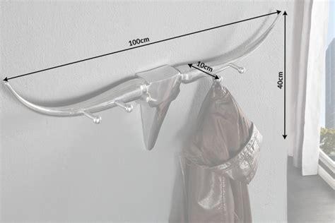 design garderobe bull metall aluminium legierung
