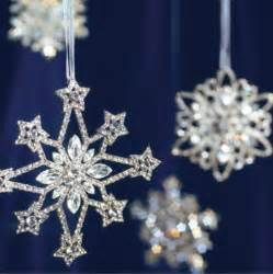 crystal snowflake ornaments traditional christmas ornaments by frontgate
