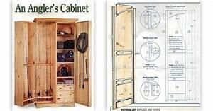 Fishing Rod Cabinet Plans • WoodArchivist