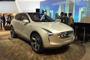 Thunder Power Electric Cars At The 2017 Frankfurt Motor